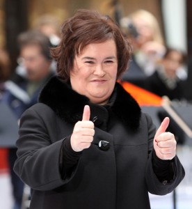 Susan Boyle in Concert on NBC's Today Show Toyota Concert Series - November 23, 2009