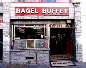 bagel buffet