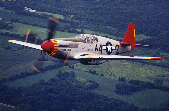 The Effects of the P-51 Mustang In World War II