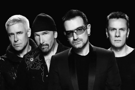 U2 rocks out as it readies post-Trump album