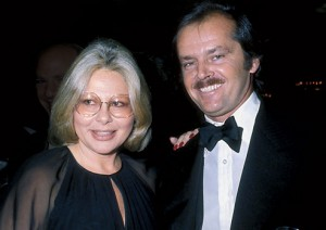Sue Mengers, Jack Nicholson by Phil Roach-Globe