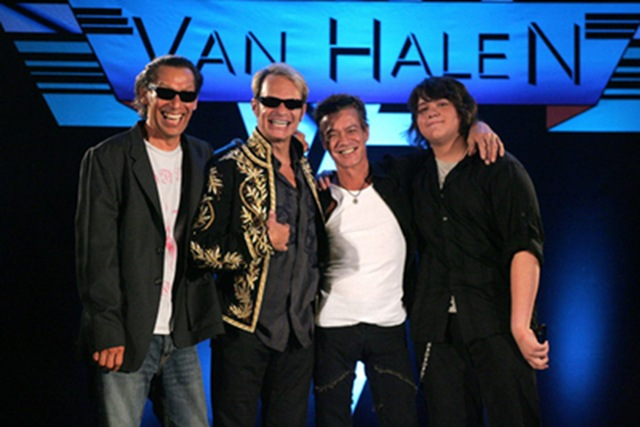 VAN HALEN Looks Ready for Grammy Week Launch | Showbiz411