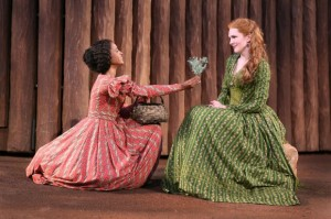 renee elise goldsberry, lily rabe