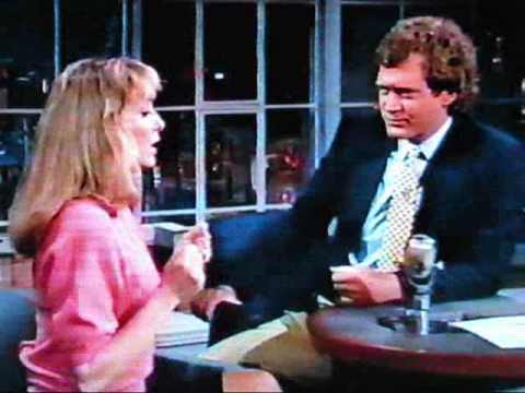 Teri Garr david letterman