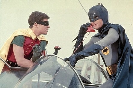 batman and robin, the real ones