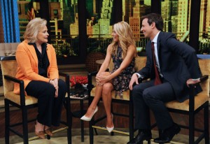 candice bergen with kelly and seth