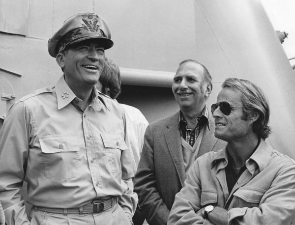 gregory peck, david brown, and dick zanuck
