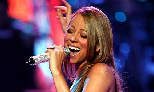 mariah singing for charity