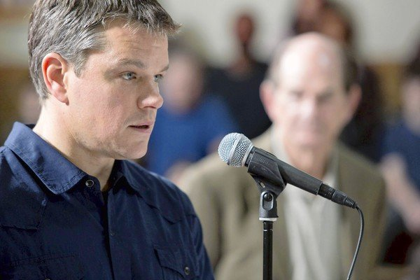 "Matt Damon and ""Promised Land."""