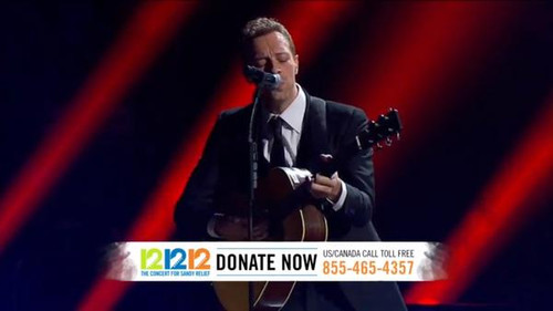 chris martin at 121212