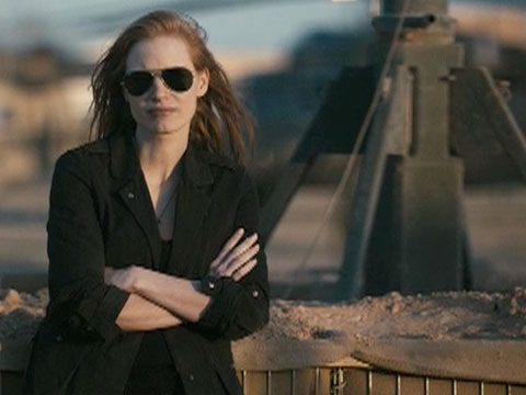 jessica chastain in zero darkthirty