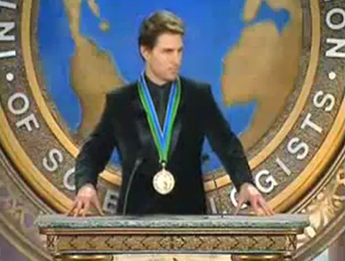 tom cruise addresses scientology meeting