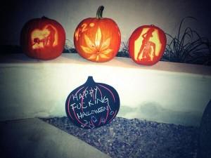 miley cyrus pumpkins