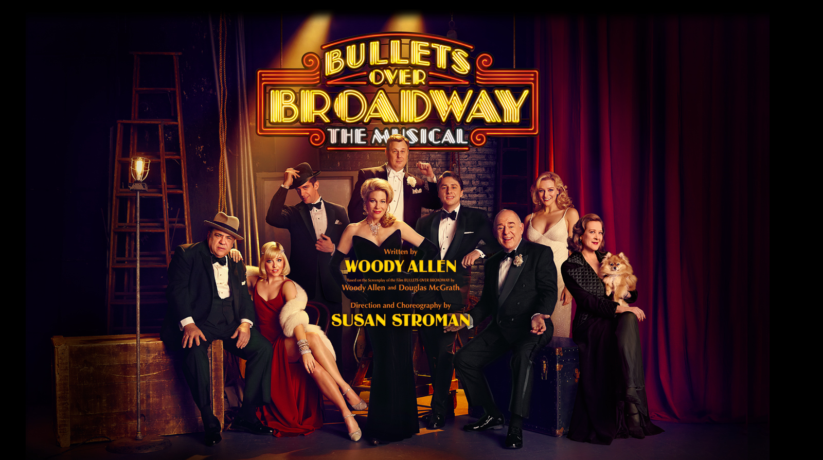 Broadway bullets over broadway to close on august 24 for The broadway