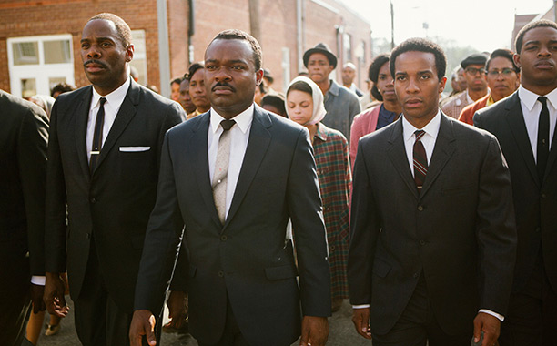 Ovation For Oprah Winfrey Brad Pitt Produced MLK Movie Selma
