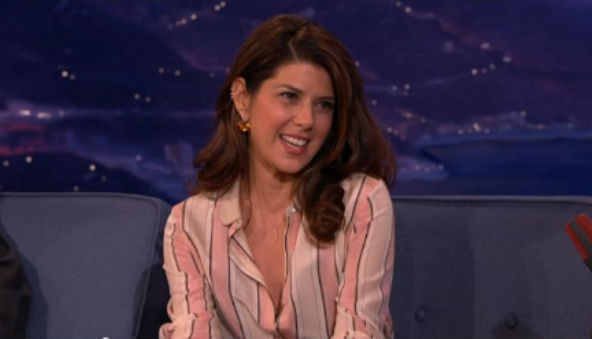 Todays Round Up Marisa Tomei as Spideys Aunt May Michelle