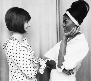 cilla with Dionne