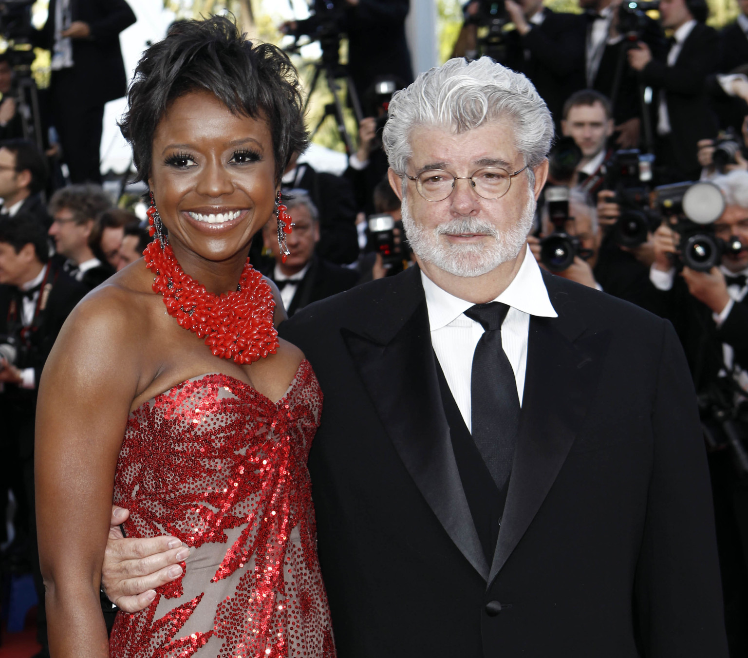 George Lucas's Wife, CBS Contributor Mellody Hobson, Broke