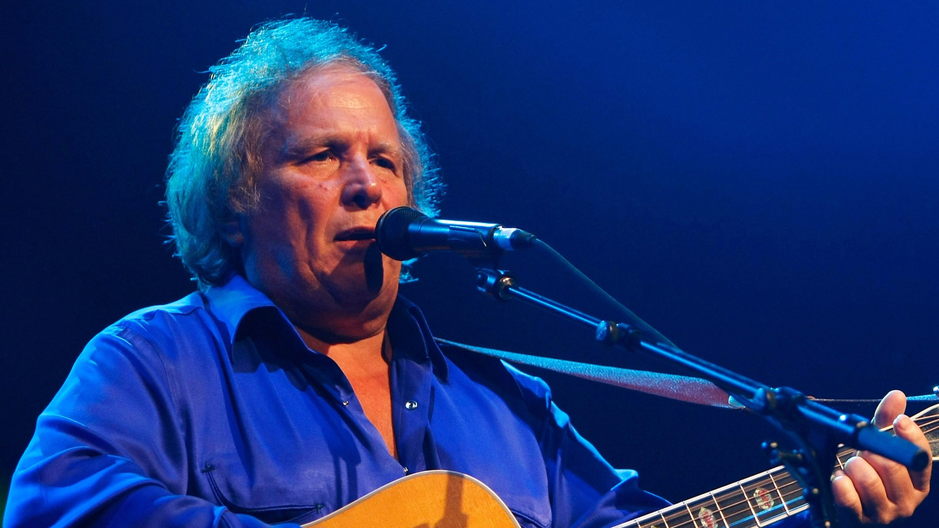 Don McLean - 2017 Light Brown hair & edgy hair style. Current length:  short hair (chin length)
