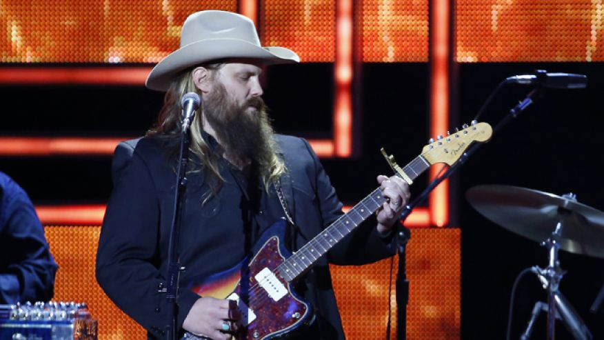 Chris stapleton hits number 1 after acm awards but tv for How many kids does chris stapleton have