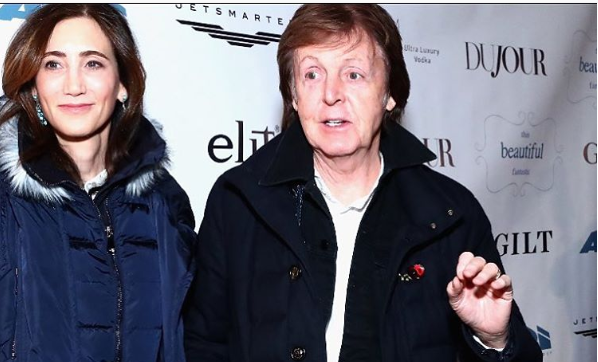 Paul McCartney Was Like A Band On The Run Monday Night At Son In Laws Movie Premiere