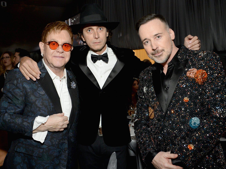 Elton John introduces
