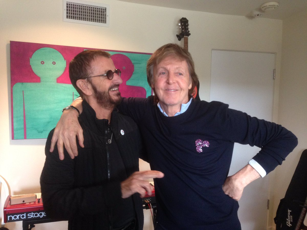 Ringo Starrs New Album Has Paul McCartney Peter Frampton Trading Titles For Songs